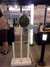 Las barreras de microondas y los detectores de microondas de CIAS en el estand de ProdexTec en SICUR 2018