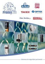 Nuevo catálogo de ProdexTec con las mejores marcas: OPTEX, TAKEX, CIAS, REDWALL, BUNKER SEGURIDAD, FIBERSENSYS.