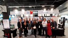 Parte del equipo de ProdexTec en SICUR 2020