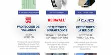 Protección de vallados, detectores infrarrojos, detección láser